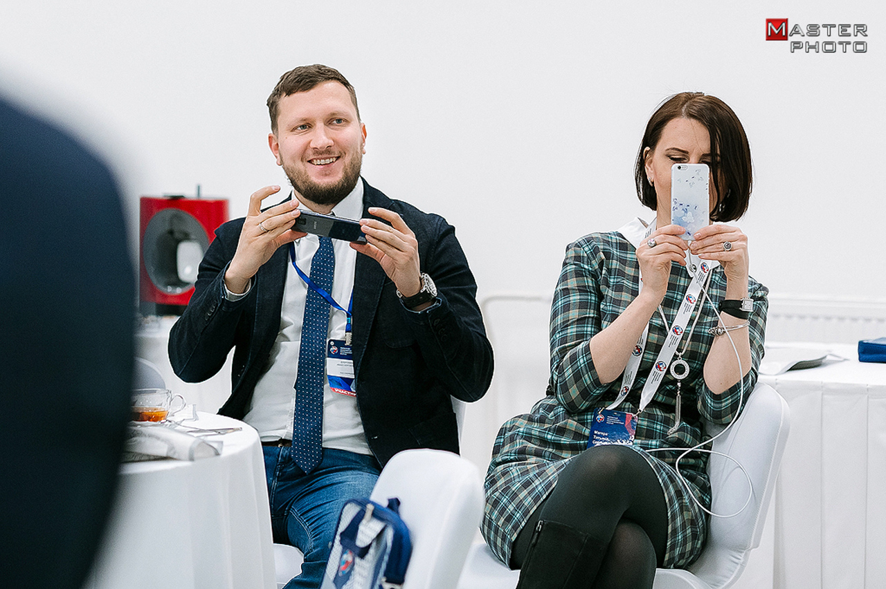 Бизнес-завтрак для ВИП клиентов компании СБЕРБАНК